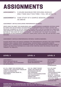 Assignments-The-Health-Therapist-Academy online courses free certificate